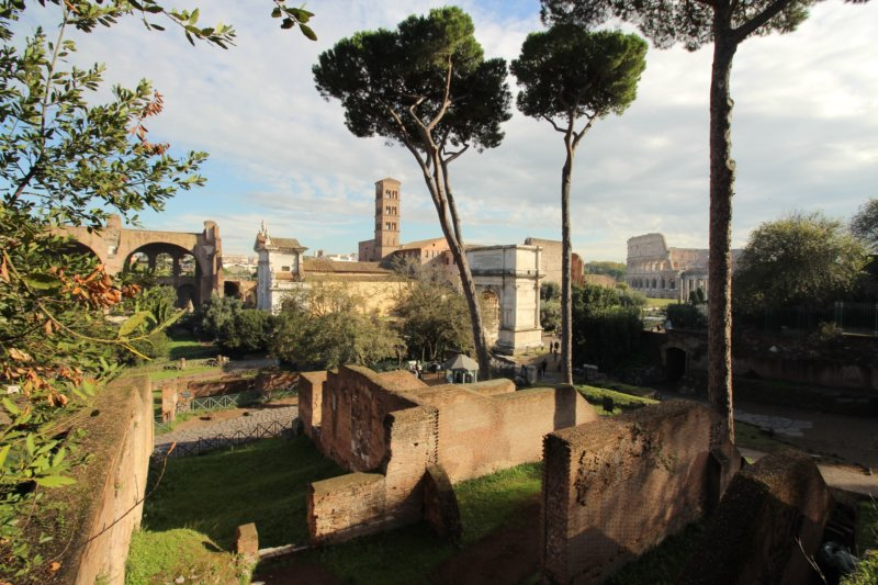 Palatine Hill, Rome