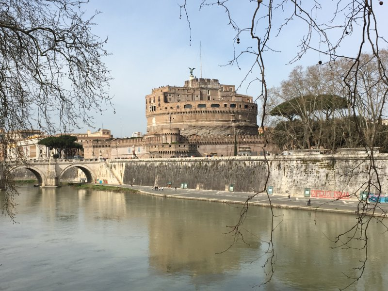 Tiber and Castel Sant' Angelo, Rome