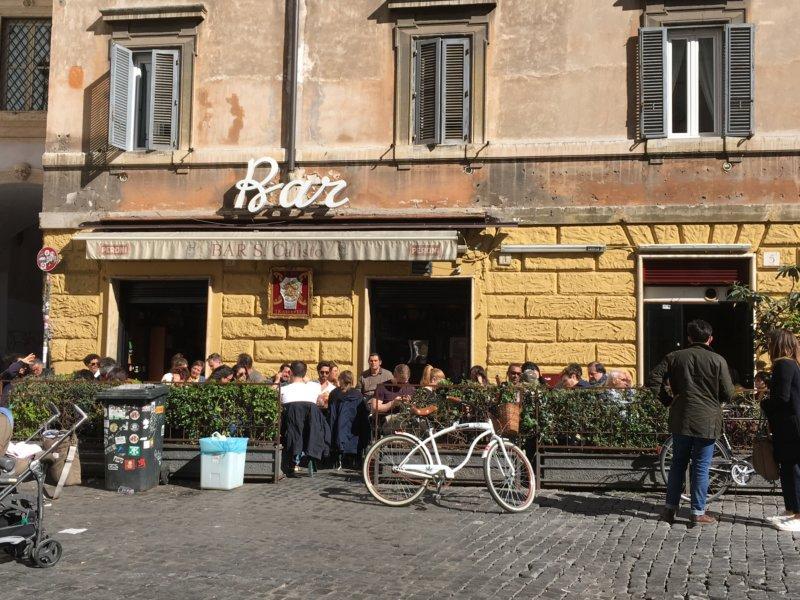 Trastevere bar, Rome