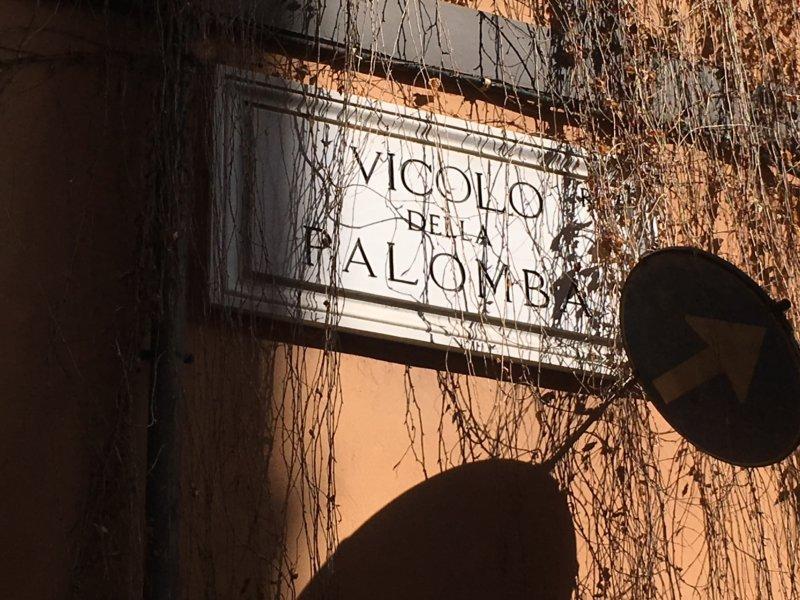 Vicolo della Palomba, a Rome weekend