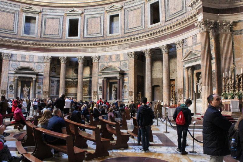 Visiting Pantheon, Rome