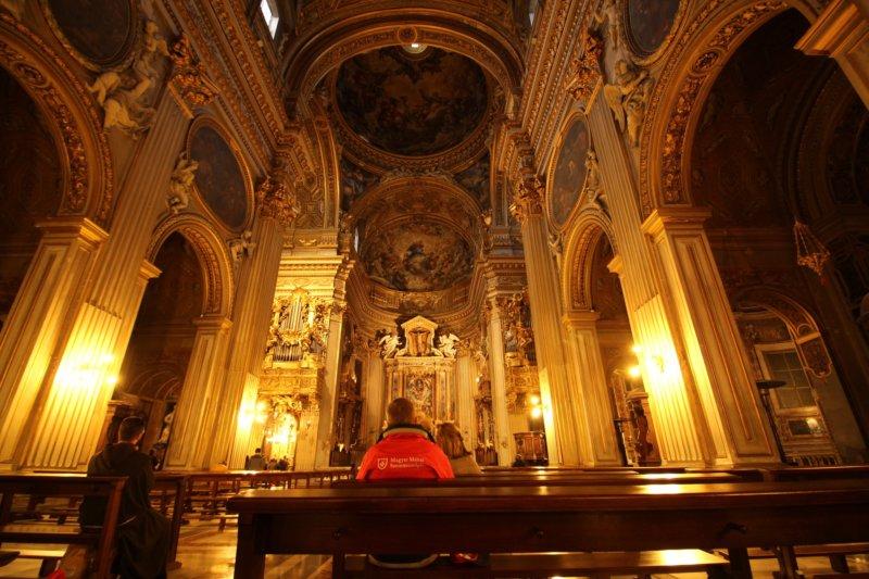 A church in Rome