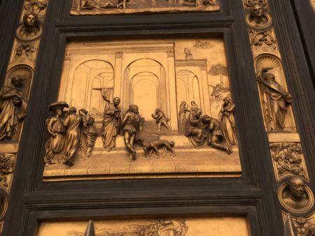 Baptistry door Florence