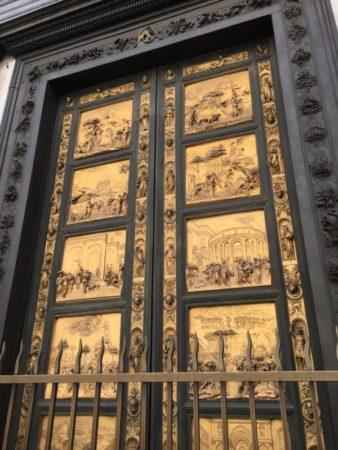 Baptistry doors, Florence