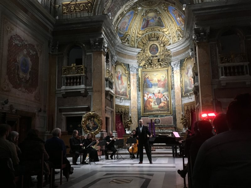 Chiesa del Caravita The three tenors
