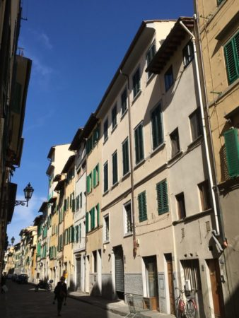 Walking in Florence old town