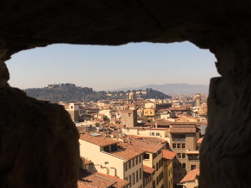 Florence from Palazzo Vecchio