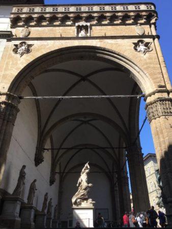 Loggia dei Lanzi Florence