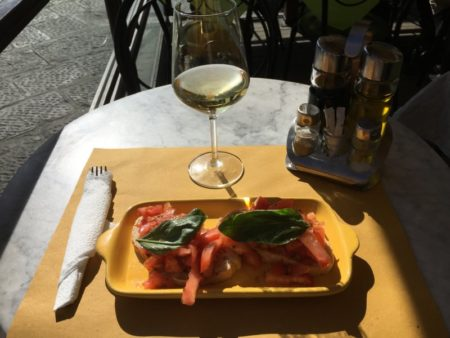 Oltrano lunch, Florence