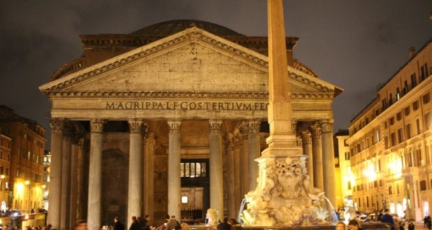 Pantheon after dark