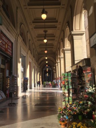 Piazza della Repubblica arcade Florence