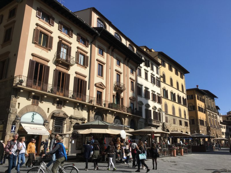 Piazza della Signoria, Florence walk