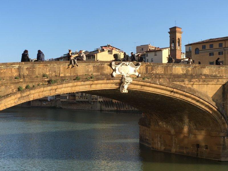 Ponte Santa Trinita, Florence walk