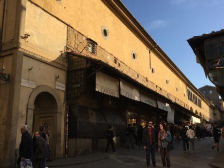 Ponte Vecchio gold shops