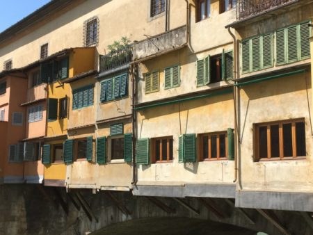 Ponte Vecchio windows