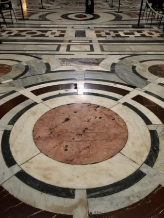 The Duomo marble floor, Florence
