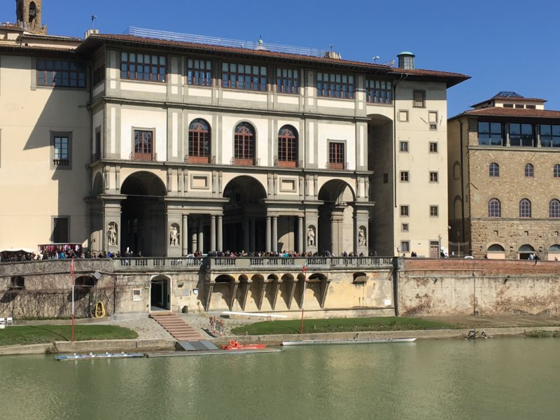 Uffici from the River Arno