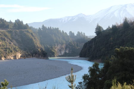 Rakaia Gorge and Mount Hutt