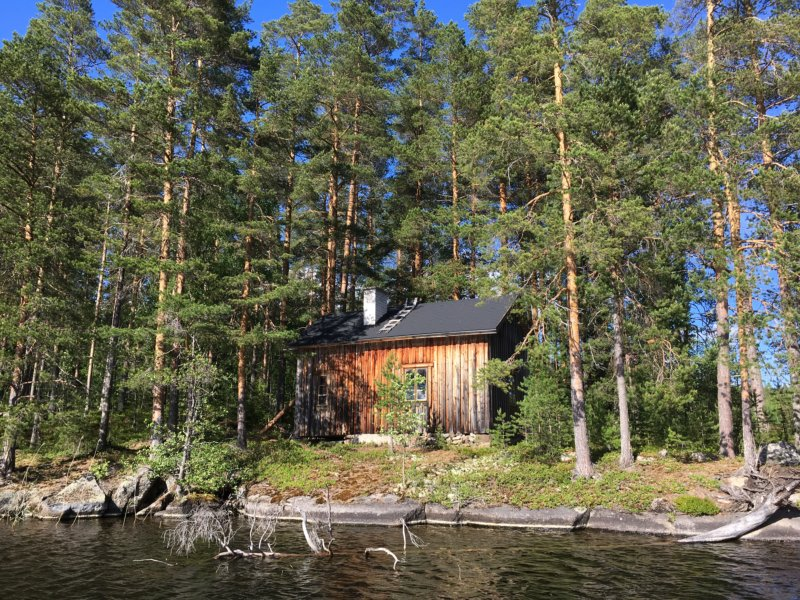 Majaniemi fishing hut Konnevesi
