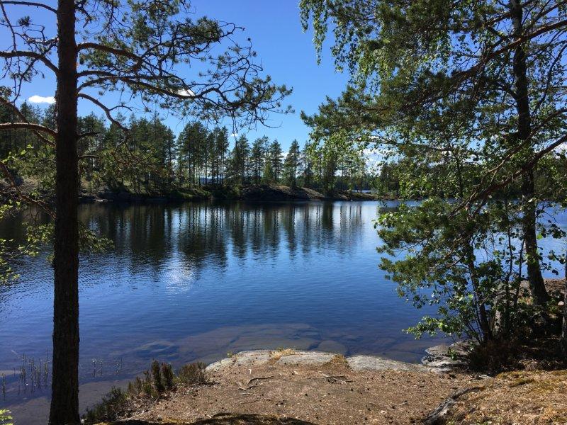 Majaniemi lake view