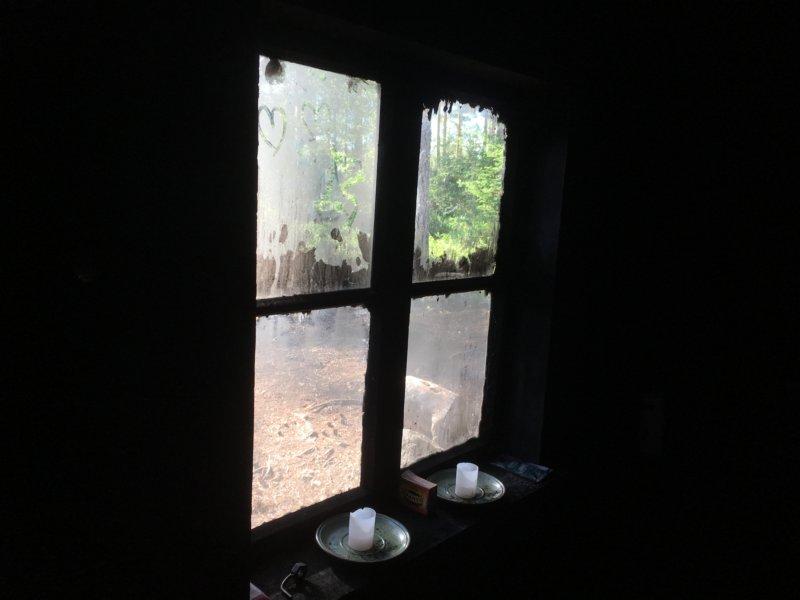 Majaniemi smoke sauna window