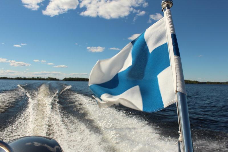 Southern Konnevesi National Park by boat