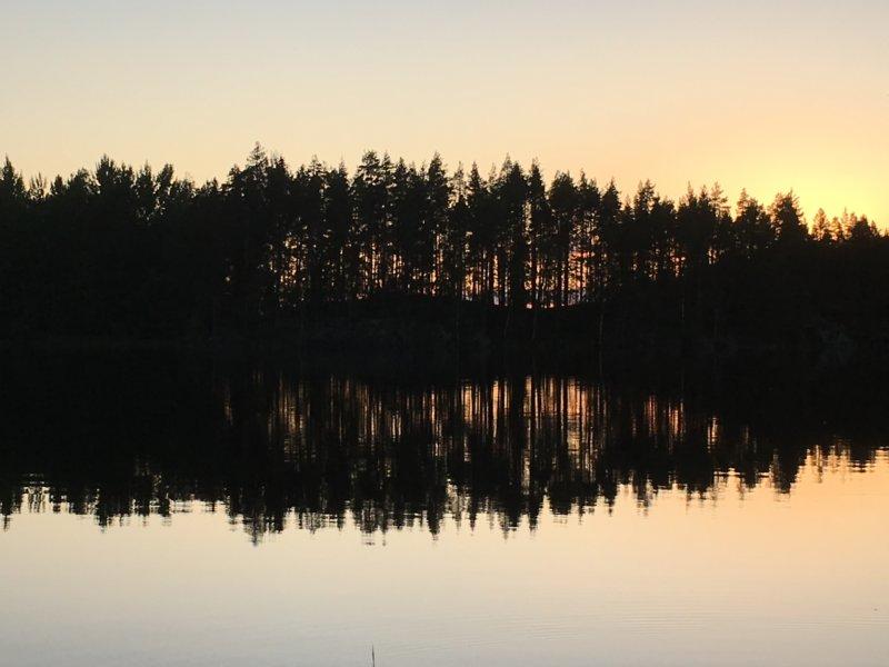 Southern Konnevesi National Park summer night