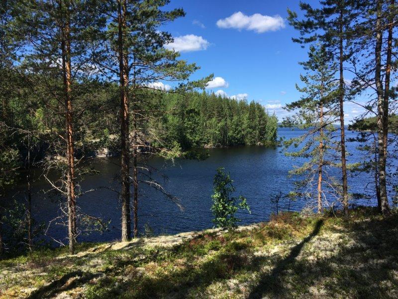 Three Mountains hiking trail, Southern Konnevesi National Park