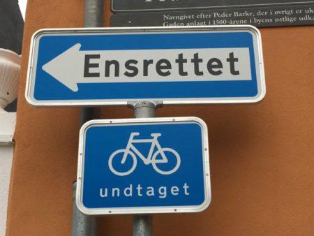 Danish road signs