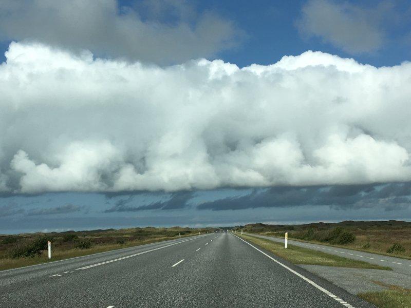 Driving in North Jutland, Denmark
