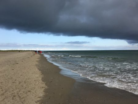 Dune walking to Grenen, the northern tip of Denmark