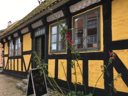 Half-timbered Saeby house