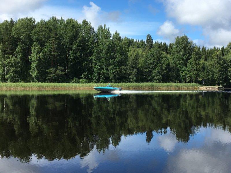 Lake Näsijärvi reflection