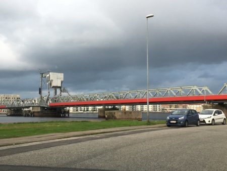 Limfjorden walking-bridge, Aalborg