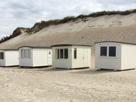 Lokken beach huts