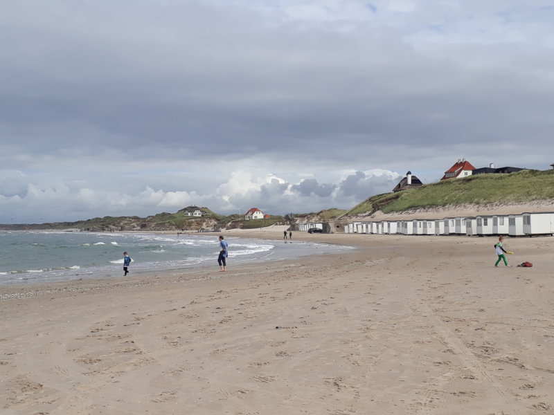 Lokken beach North Jutland