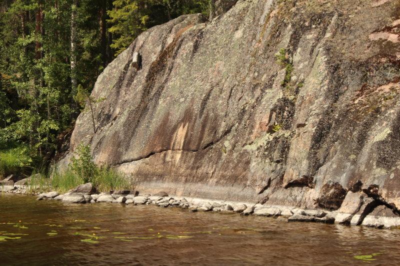Ruovesi rock paintings, Näsijärvi waterway