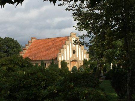 Saeby church Jutland
