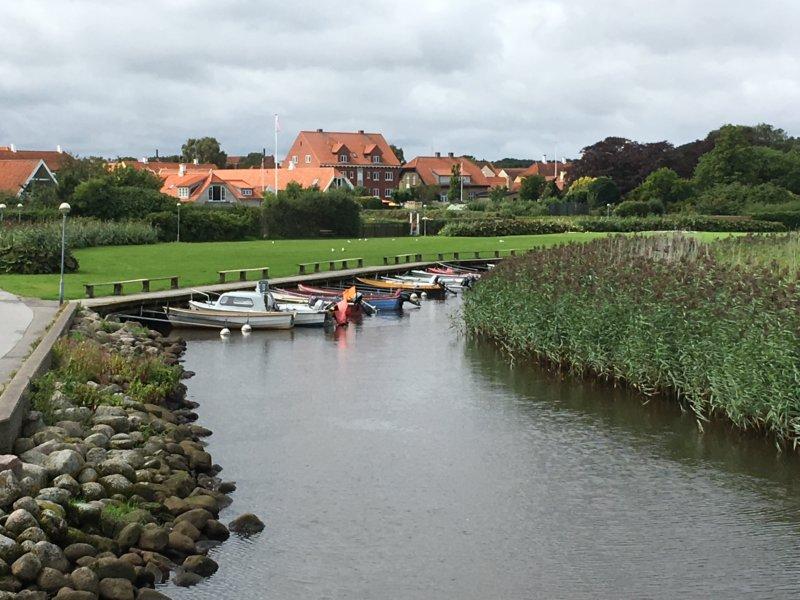 Saeby harbor Denmark