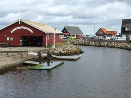 Saeby harbor view