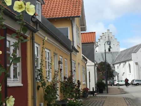 Saeby old town and church