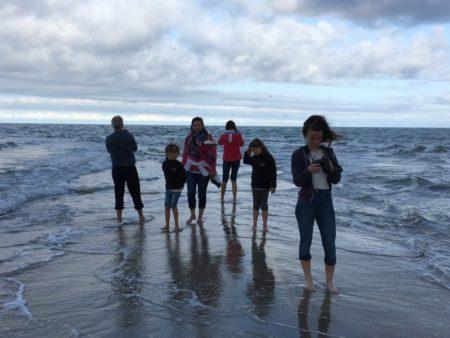 Standing on Denmark's northernmost tip, Grenen