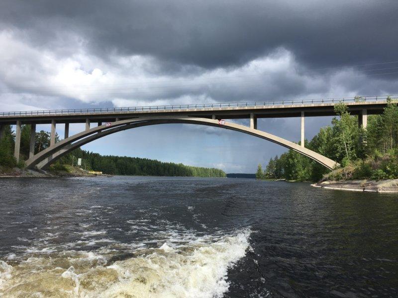 Syvinginsalmi bridge, Näsijärvi waterway
