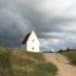 The sand-buried church, Denmark