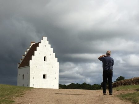 The sand-covered church, Jutland