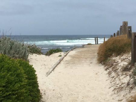 17 Mile Drive dune walk