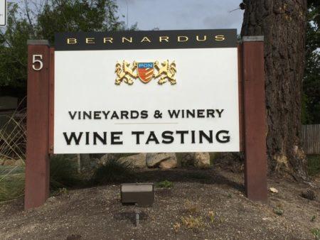 Carmel Valley wine tasting