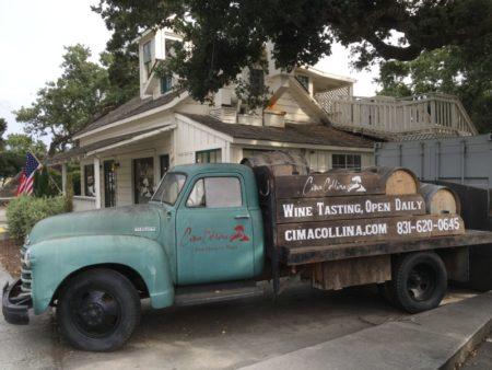 Carmel Valley wine tasting room