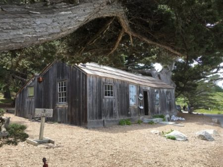 Point Lobos State Park fishing hut