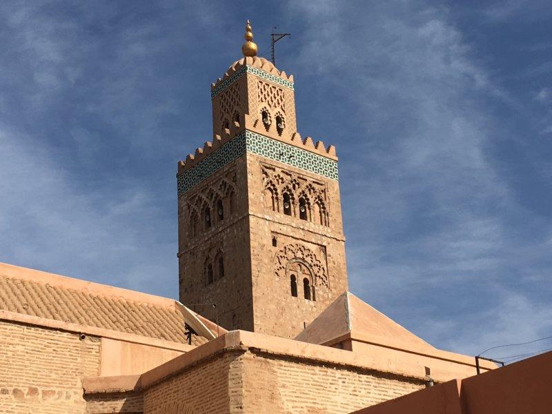 Koutobia Mosque minarete